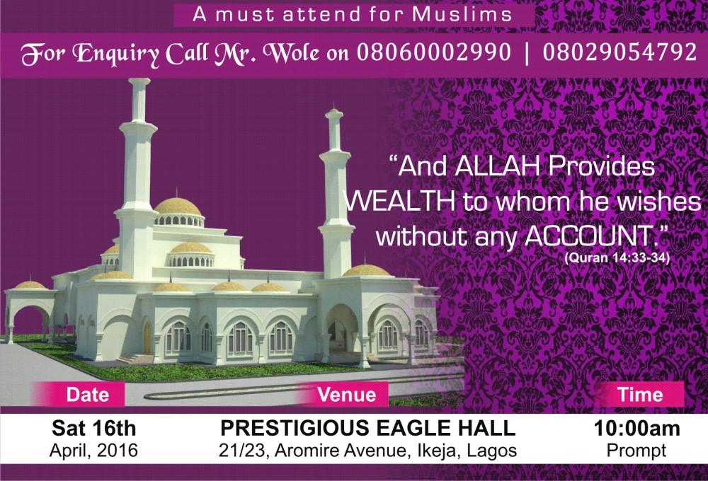 Muslim Seminar back